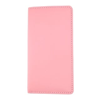 Ascentix Women's Leather Fashion Color Checkbook Cover - one size