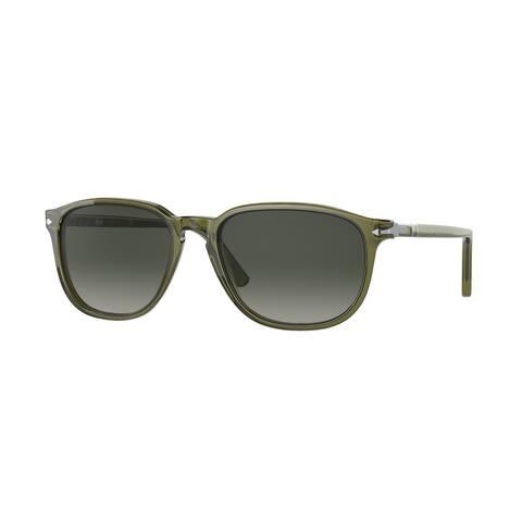 Persol PO3019S 114271 52 Olive Green Trasparent Man Square Sunglasses