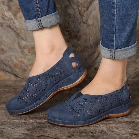 Women's Hollow Wedge Sandals5 Colors