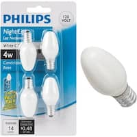 Philips Lighting Co 4W C7 Sw Nghtlght Bulb 390849 Unit: EACH