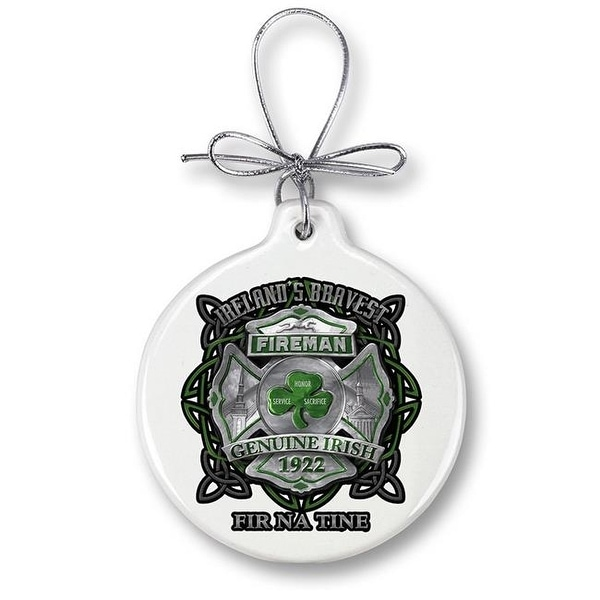 firefighter christmas ornaments gifts for men or women garda