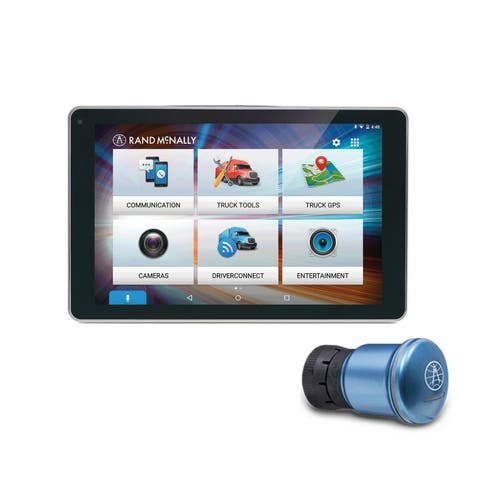 Rand McNally OverDryve 8 Pro with Inbuilt Dashcam, Bluetooth & SiriusXM Truck GPS with ELD-51