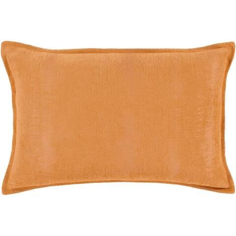 Carson Carrington Tatriset Solid Chenille Lumbar Throw Pillow Cover