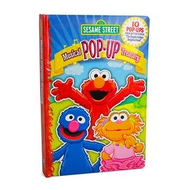 Sesame Street Musical Treasury Pop-Up Book