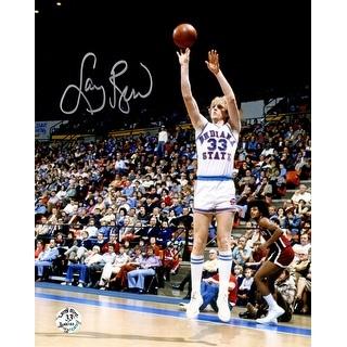 Larry Bird Indiana State Jump Shot 8x10 Photo