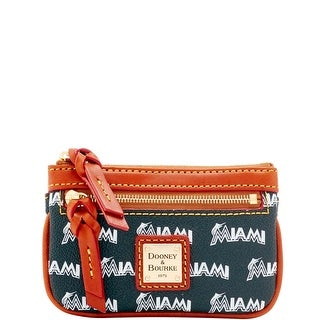 Dooney & Bourke MLB Marlins Small Coin Case (Introduced by Dooney & Bourke at $58 in Jan 2016)