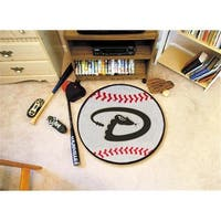 FANMATS 6510 Arizona Diamondbacks Baseball Rugs 29 in. diameter