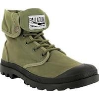 Palladium  Baggy Army TRNG Camp Boot Olive Drab/Beluga Textile