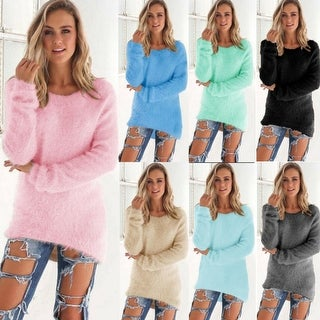 Link to Winter Sweater Women Casual Korean Slim Pullovers Sweaters Tops Similar Items in Women's Sweaters