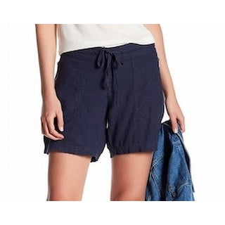 Supplies by Union Bay NEW Navy Blue Womens Size 6 Drawstring Shorts