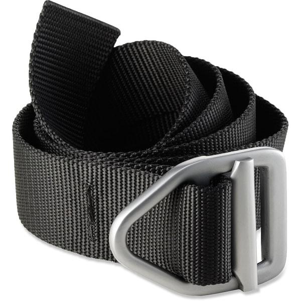 Bison Designs Last Chance Light Duty Gunmetal Buckle Belt - Black