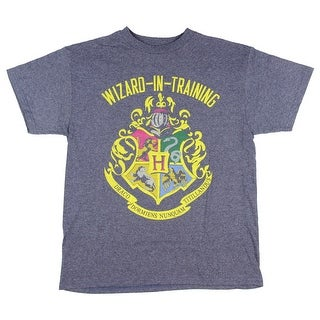 Harry Potter Big Boys Wizard In Training Navy Heather T-shirt (5 options available)