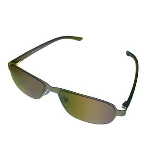 Umbro Sunglass Brown, Solid Brown Lens Metal Sport Aviator GS05 - Medium
