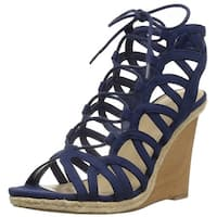 Indigo Rd. Womens Holiday Fabric Open Toe Casual Platform Sandals