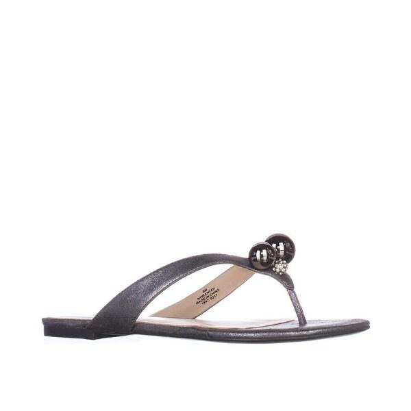 Nine West Sanyah Pearl Thong Sandals - 9.5 b(m)