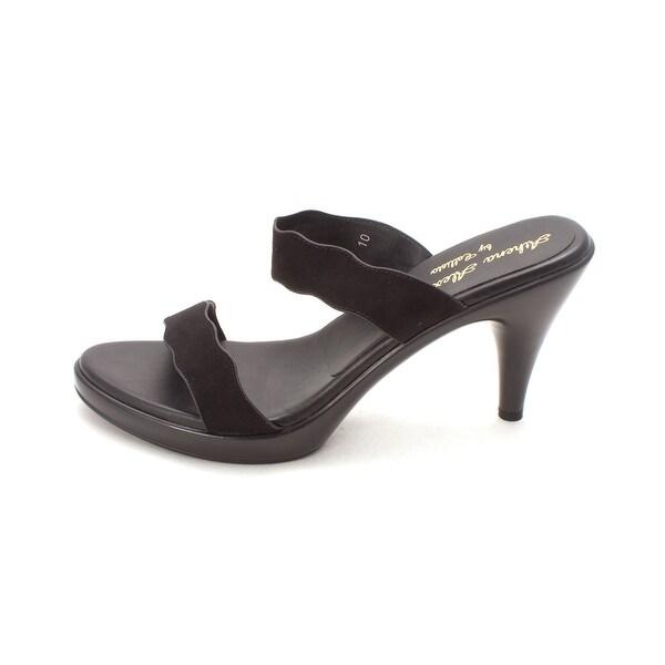 Athena Alexander Womens Randall Open Toe Casual Slide Sandals