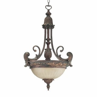 Quorum International Q8230-3 Madeleine 3 Light Bowl Shaped Pendant
