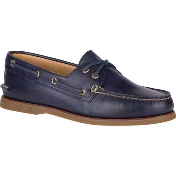Shop Sperry Top-Sider Men s Gold Cup A O 2-Eye Boat Shoe Navy Gum ... 750c955caf2a