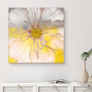 Link to Silver Orchid Wayne 'Painted Petals' Canvas Art Similar Items in Matching Sets