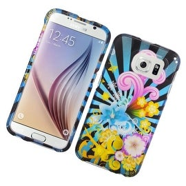 Insten Colorful Fireworks Hard Snap-on Rubberized Matte Case Cover For Samsung Galaxy S6