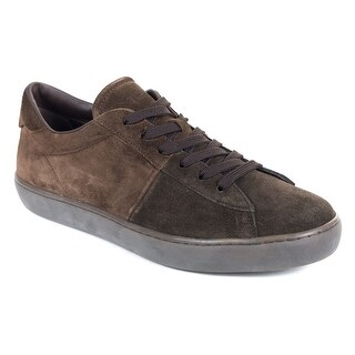 Tod's Suede Two Tone Brown Low Top Allacciato Sneakers