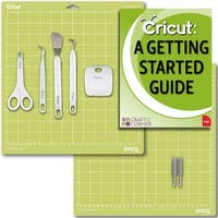 Cricut Blades 2 Pack, Basic Tools Set 5 Pack And 12X12 Cutting Mat Guide Bundle
