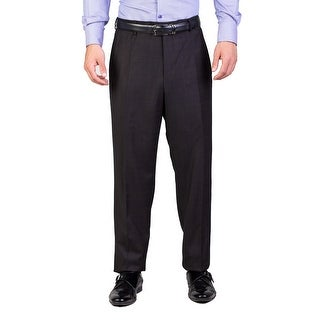 Prada Men's Virgin Wool Trouser Pants Plaid Brown Blue - 40
