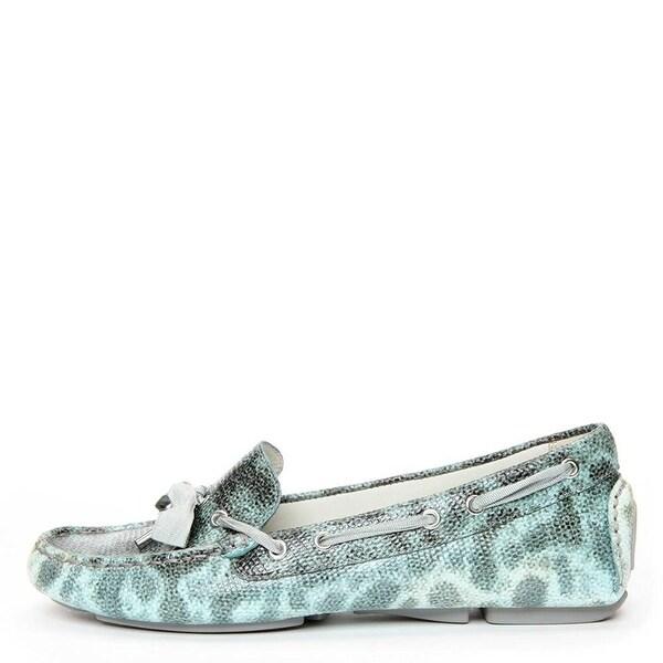 Donald J Pliner Womens Verra Leather Loafers