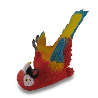 Tropical Parrot Single Bottle Wine Holder