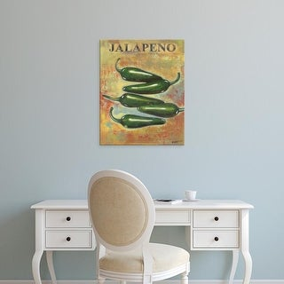 Easy Art Prints Norman Wyatt's 'Jalapeno' Premium Canvas Art