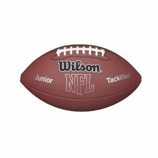 Wilson WTF1414PT NFL MVP Junior Football w/ Pump & Tee