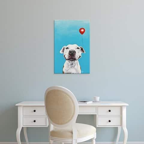 Easy Art Prints Victoria Coleman's 'Party Dog V' Premium Canvas Art