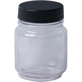 Jacquard Empty Jar W/Lid 2.25Oz-Clear