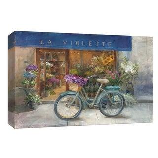 "PTM Images 9-153986  PTM Canvas Collection 8"" x 10"" - ""La Violette Grand"" Giclee Flowers Art Print on Canvas"