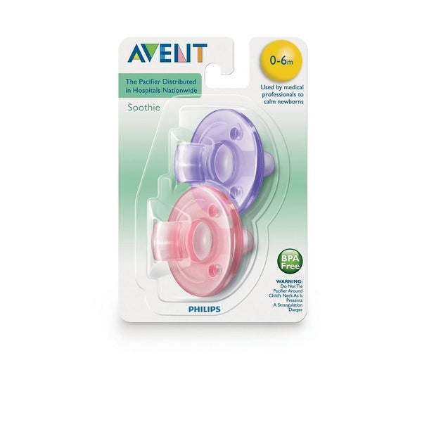Philips AVENT Soothie 0M+ Pacifier - 2 Pack