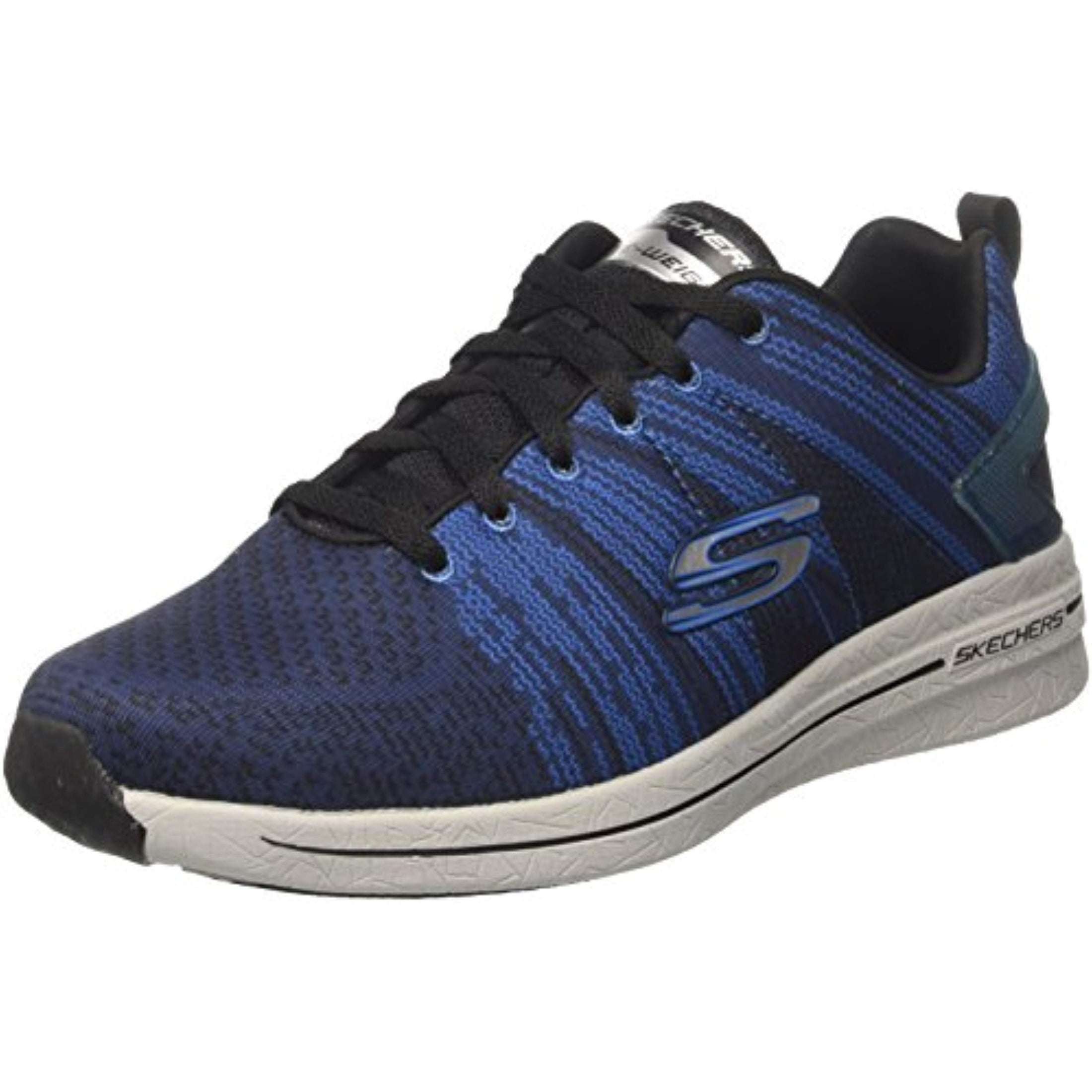 Skechers Men's Burst 2.0 In The Mix Ii Sneaker,BlackBlue,Us 9.5 M