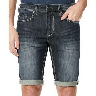 Buffalo David Bitton Mens Parker-X Folded Denim Shorts