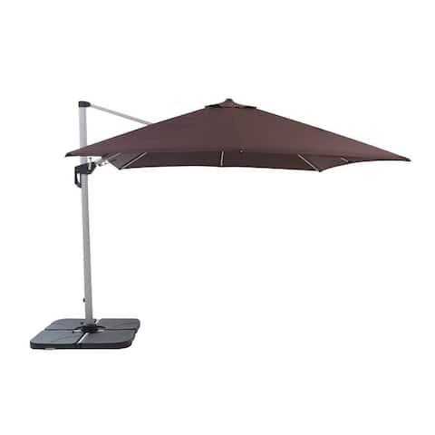 Camden 10' Square Heavy Duty Cantilever Patio Umbrella