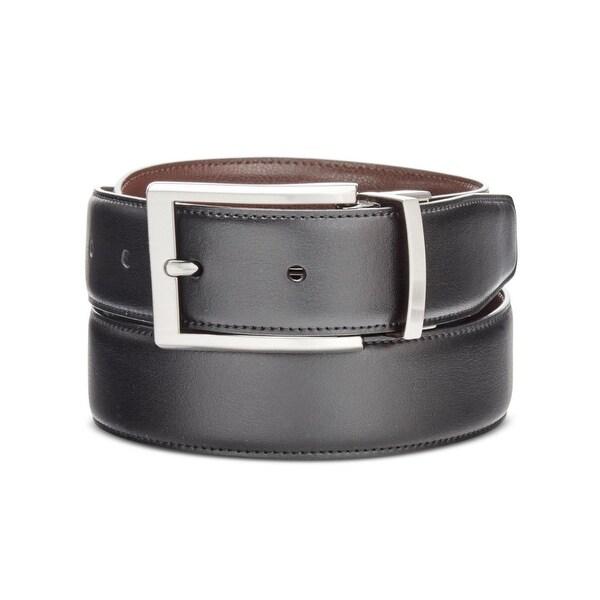 Perry Ellis Mens Big & Tall Bonni G Reversible Belt Leather Reversible - 52