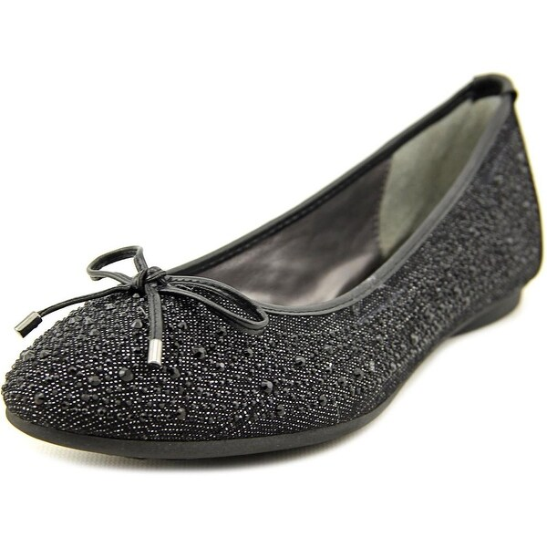 Adrienne Vittadini Cathi   Round Toe Synthetic  Flats