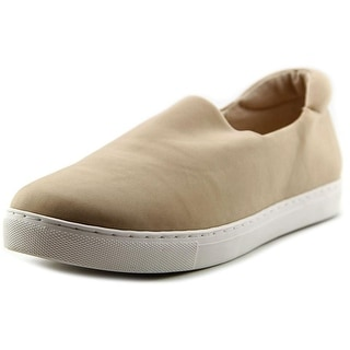 Vince Camuto Stacy Women Round Toe Canvas Nude Loafer