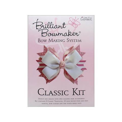 0102 little pink ladybug brilliant bowmaker kit classic