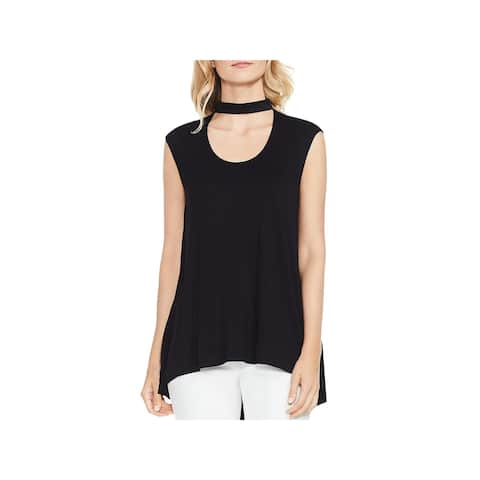 Vince Camuto Womens Choker Tank Workwear Office Wear
