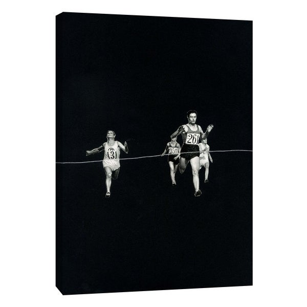 """PTM Images 9-105957 PTM Canvas Collection 10"""" x 8"""" - """"Finish"""" Giclee Sports and Hobbies Art Print on Canvas"""