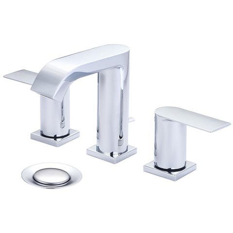Olympia i4V Two Handle Lavatory Widespread Faucet - Polished Chrome