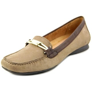 Naturalizer Saturday W Square Toe Leather Loafer
