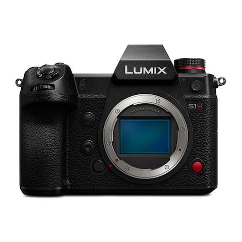 Panasonic LUMIX S1H 24.2MP Mirrorless Camera (Body Only) Bundle