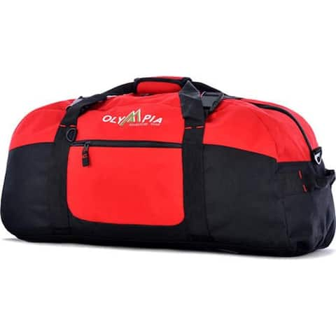 """Sports Plus 30"""" Sports Duffel Display Card Red - US One Size (Size None)"""