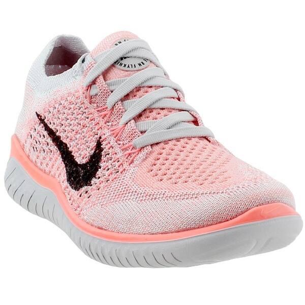 Oxidar Morgue aluminio  Shop Nike Womens Free Rn Flyknit 2018 Running Casual Shoes - Overstock -  25461094