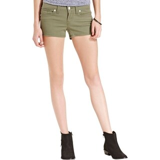 Levi's Womens Juniors Casual Shorts Twill Low-Rise